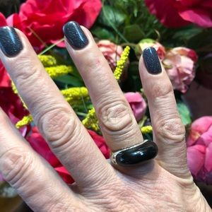 Jewelry - Sterling ring with Black Onyx